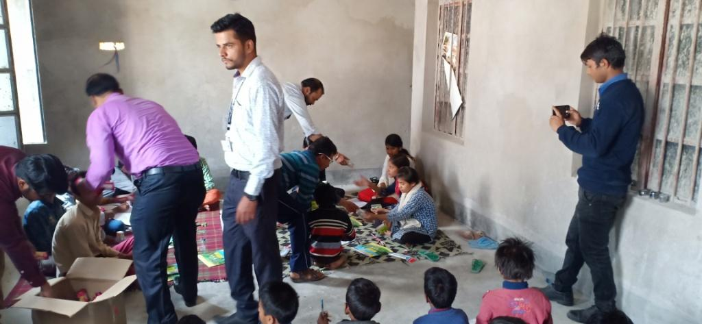 Games & painting Programm by our organization